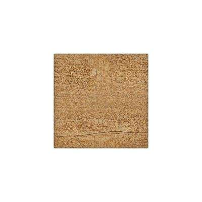 6 in. x 6 in. Rough Sawn Puritan Pine Endurathane Faux Wood Ceiling Beam Material Sample