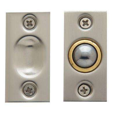 Adjustable Ball Catch in Satin Nickel