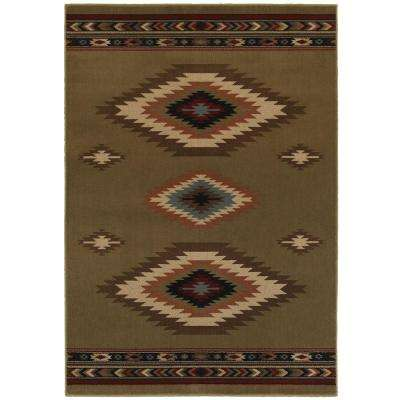 Aztec Green 9 Ft. 6 In. X 12 Ft. 2 In. Area