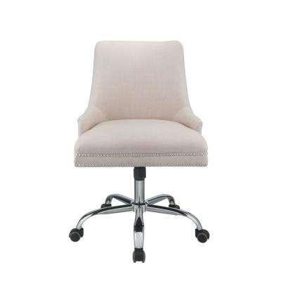 Yuval Beige Office Chair