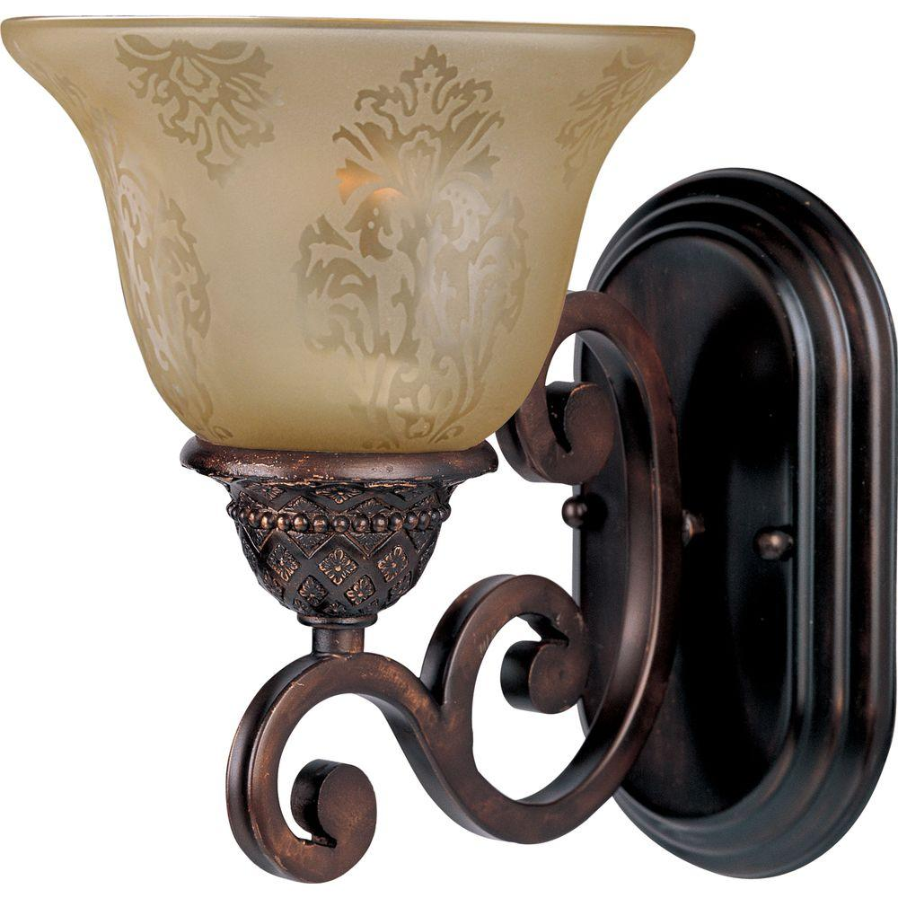 Maxim Lighting Symphony 1-Light Oil-Rubbed Bronze Sconce
