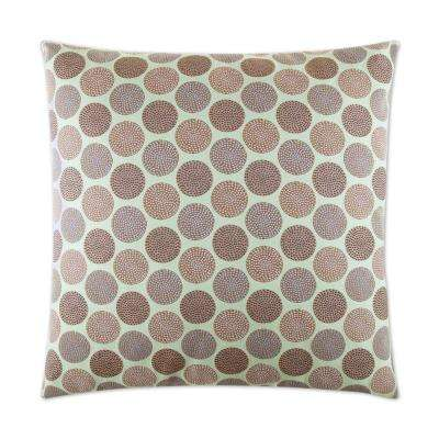 Circadian Seaglass Feather Down 24 in. x 24 in. Standard Decorative Throw Pillow