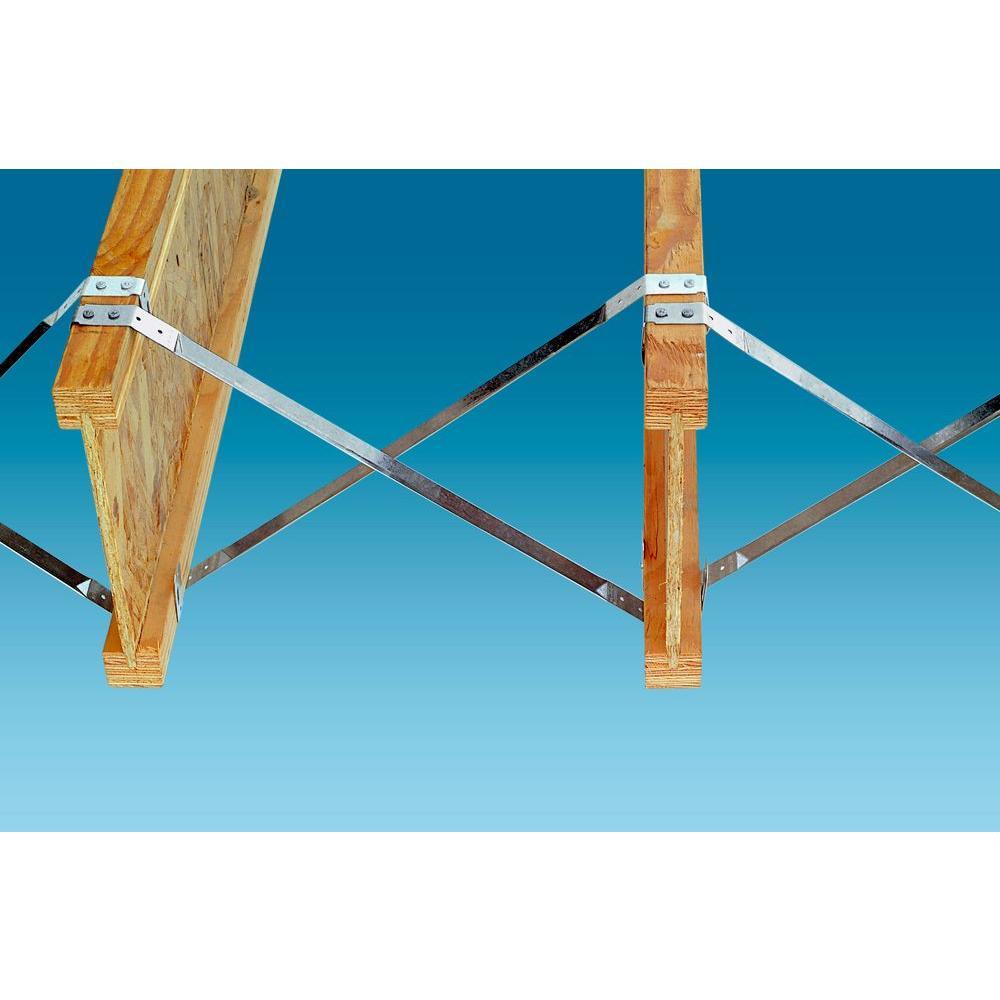 50-Per Box Simpson Strong Tie TB27-50 Tension Bridging
