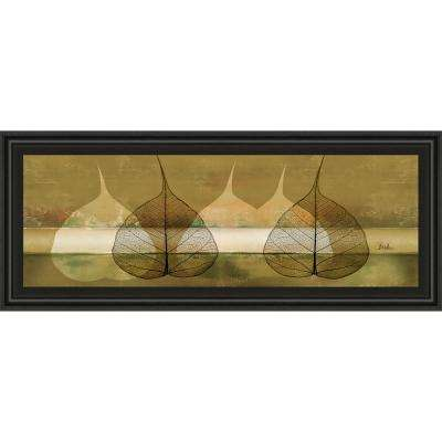"18 in. x 42 in. ""Less Is More III"" by Patricia Pinto Framed Printed Wall Art"