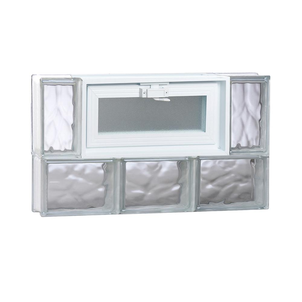 Clearly Secure 23.25 in. x 13.5 in. x 3.125 in. Frameless Wave ...