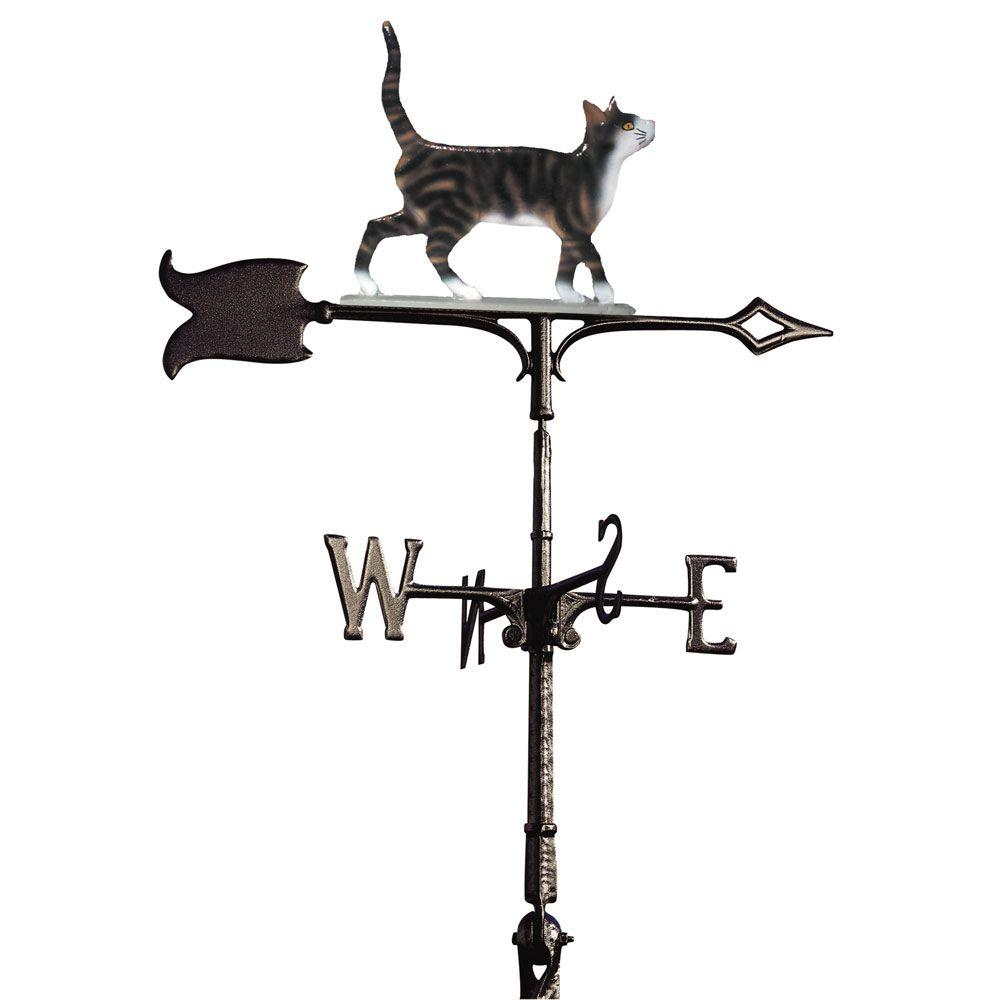 30 in. Standing Tiger Cat Weathervane