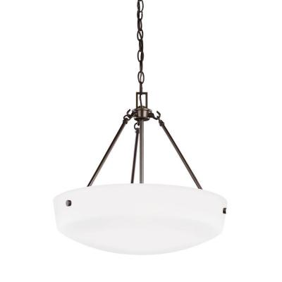 Kerrville 3-Light Heirloom Bronze Pendant Lighting