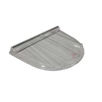 5600 59 in. x 6 in. Flat Window Well Polycarbonate Cover