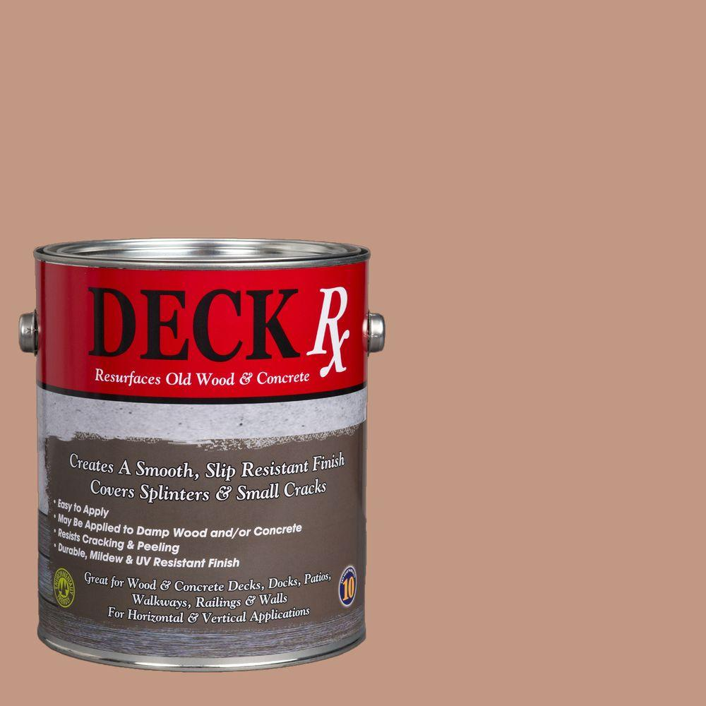 Deck Rx 1 gal. Earthy Tan Wood and Concrete Exterior Resurfacer