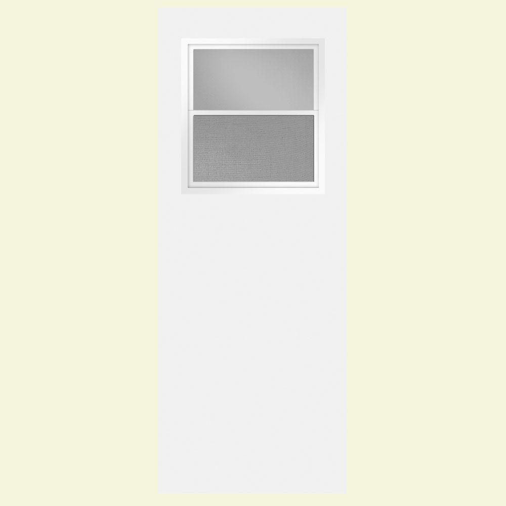 20 Minute Fire Rated Door : Masonite in smooth flush hardboard ventlite