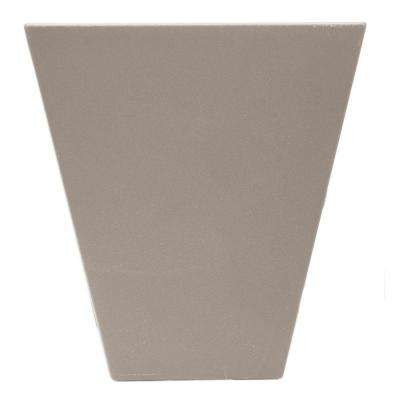 6 in. Flat Panel Window Header Keystone in 008 Clay