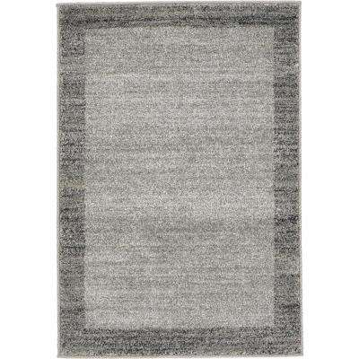 Del Mar Abigail Light Gray 2' 2 x 3' 0 Area Rug