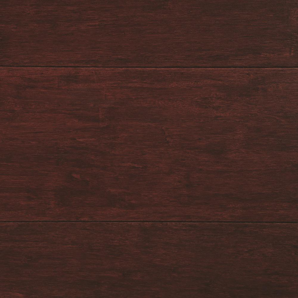 Home Decorators Collection Strand Woven Cherry 3/8 in. Thick x 5-1/8 in. Wide x 72 in. Length Click Lock Bamboo Flooring (25.75 sq. ft. / case)