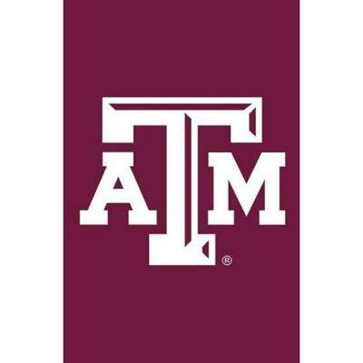 NCAA 12-1/2 in. x 18 in. Texas A&M 2-Sided Garden Flag