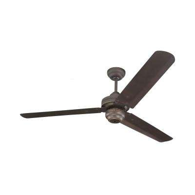 Studio Collection 54 in. Indoor Roman Bronze Ceiling Fan
