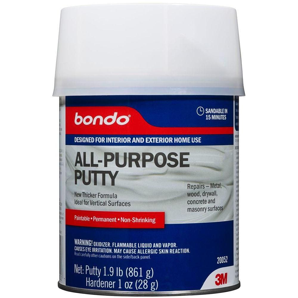 Bondo Home Solutions 1-qt. All-Purpose Putty (Case of 3)