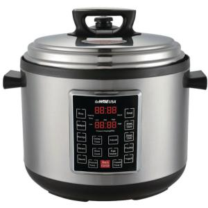 Click here to buy GoWISE USA 14 Qt. Electric Pressure Cooker XXL with 12-Presets by GoWISE USA.
