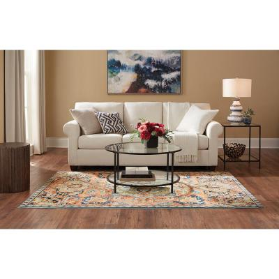 Cadence Multi 5 ft. x 7 ft. Medallion Area Rug