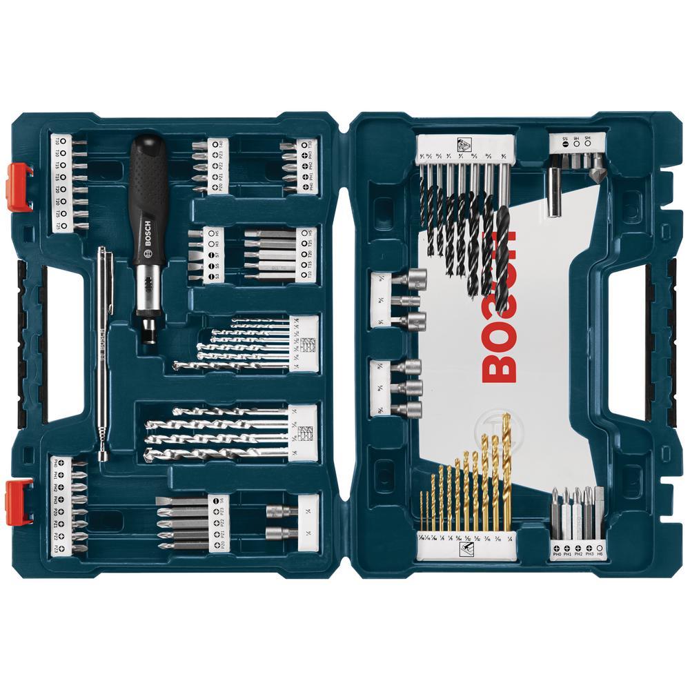 Bosch MS4034 34 piece Drill and Drive Bit Set