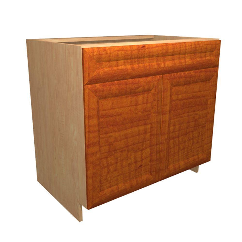 24x34.5x21 in. Dolomiti Vanity Sink Base Cabinet with Shelf Liner 2