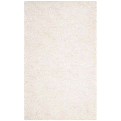 Sheep Shag Ivory 3 ft. x 4 ft. Area Rug