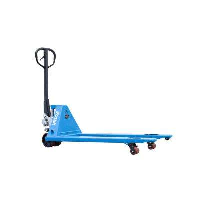 M25N Narrow 5,500 lbs. 20.5 in. x 48 in. Manual Pallet Truck German Seal System with Polyurethane Wheels