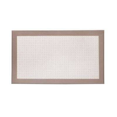Resilience Beige 20 in. x 34 in. Poly-Urethane Cushion Mat