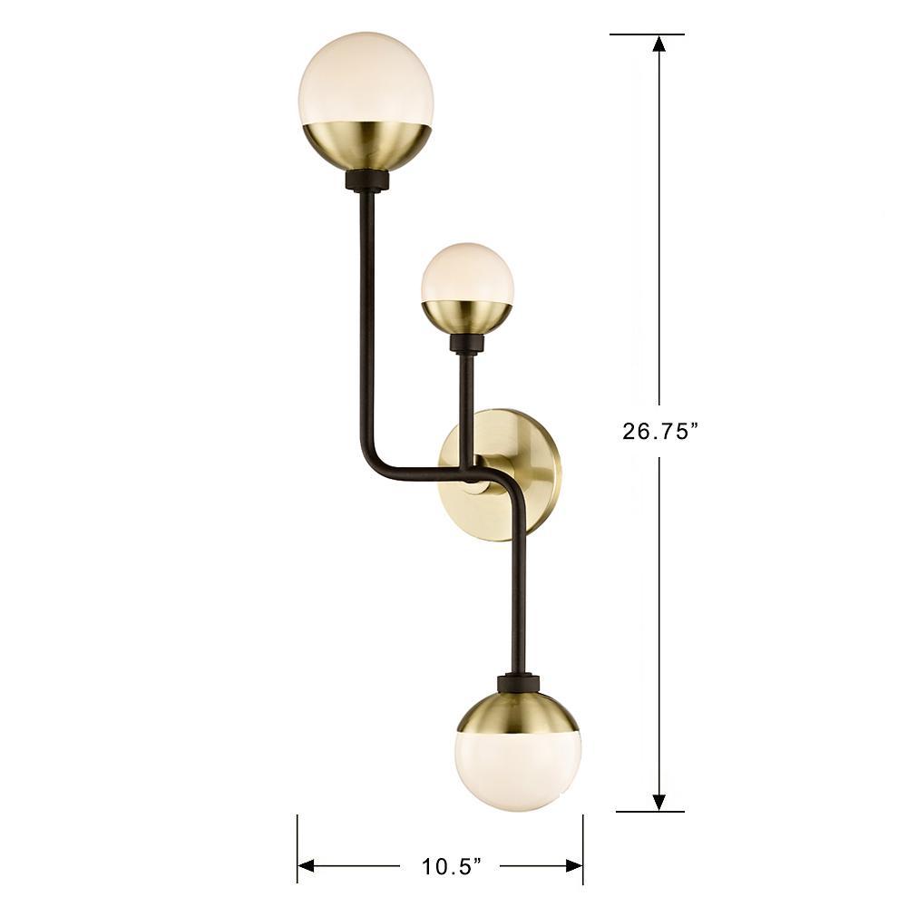 Lighting Hipster 3 Light Bronze Br