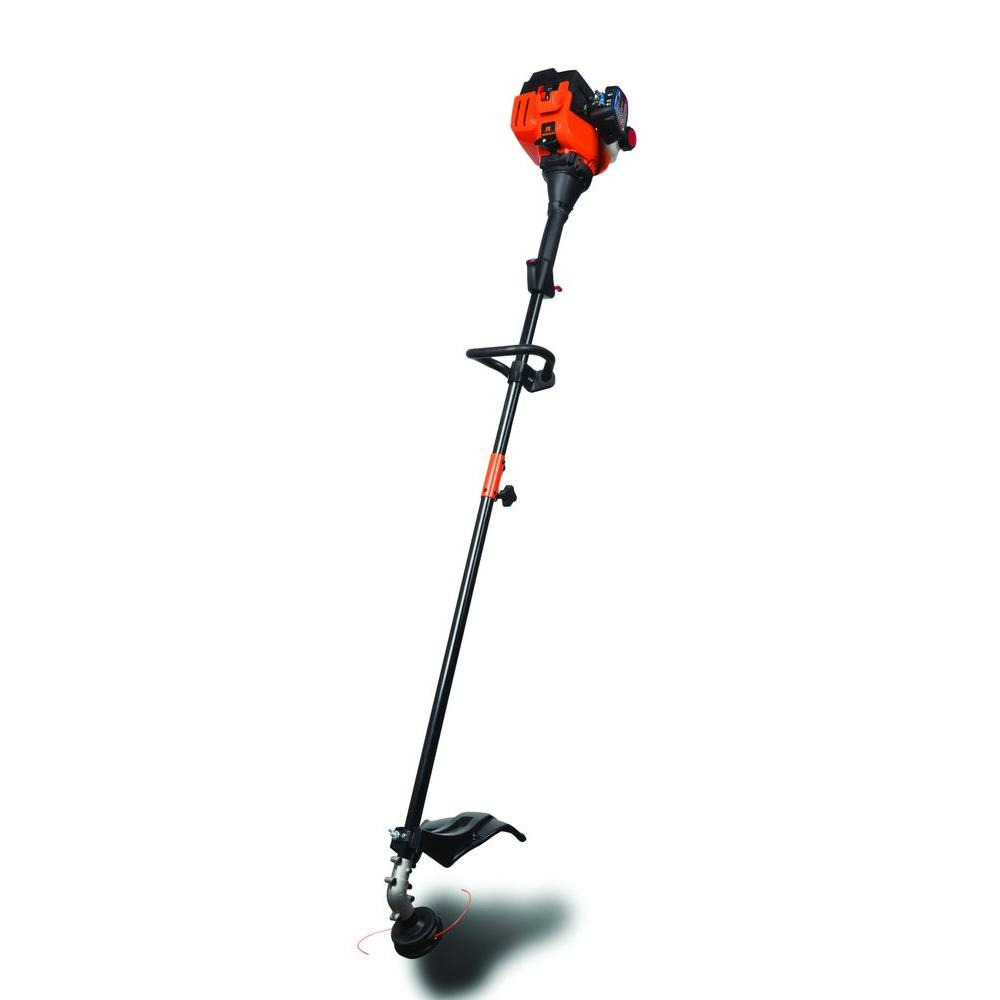 17 in. 25 cc 2-Cycle Straight Shaft Attachment Capable Gas Trimmer