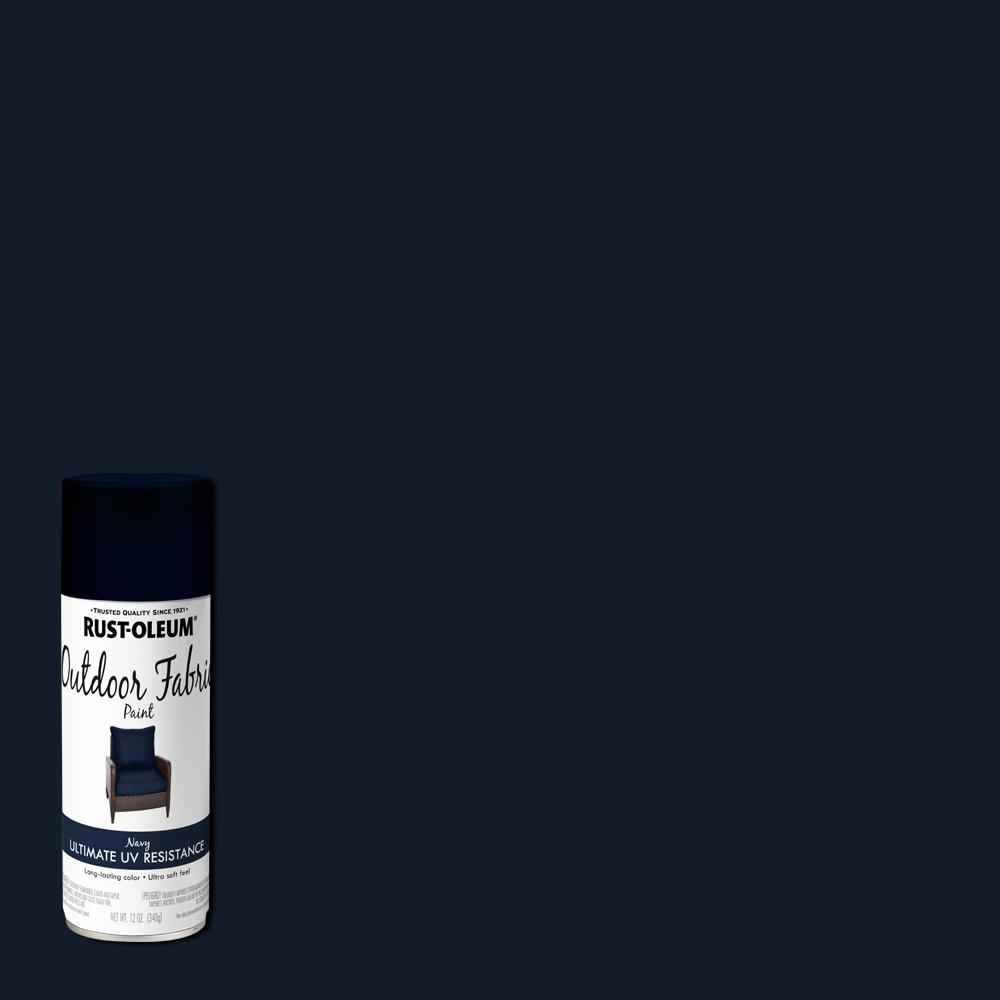 Rust-Oleum 12 oz. Navy Outdoor Fabric Spray Paint