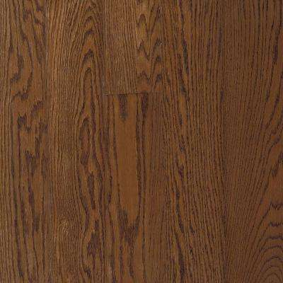 Bayport Oak Low Gloss Saddle 3/4 in. Thick x 2-1/4 in. Wide x Varying Length Solid Hardwood Flooring (20 sq. ft. / case)