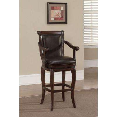 Verona 30 in. Navajo Cushioned Bar Stool