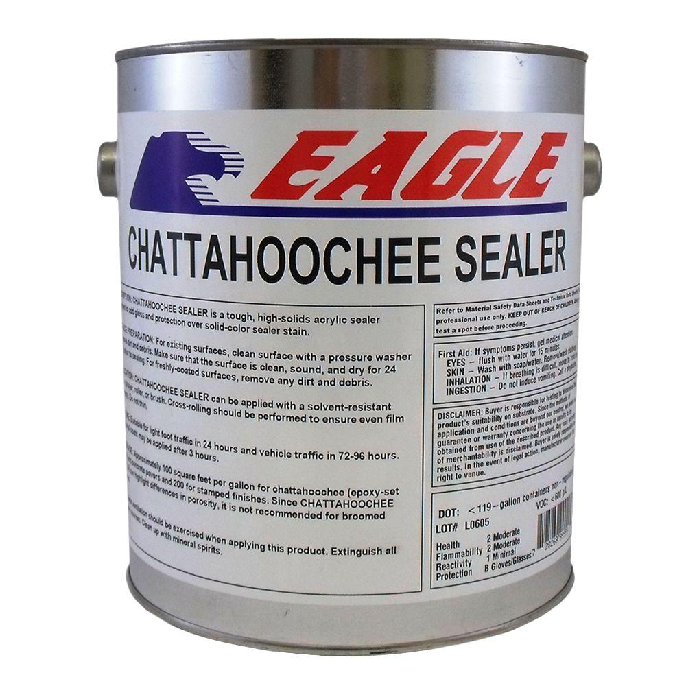 Eagle 1 gal clear high gloss oil based acrylic for Chattahoochee floor