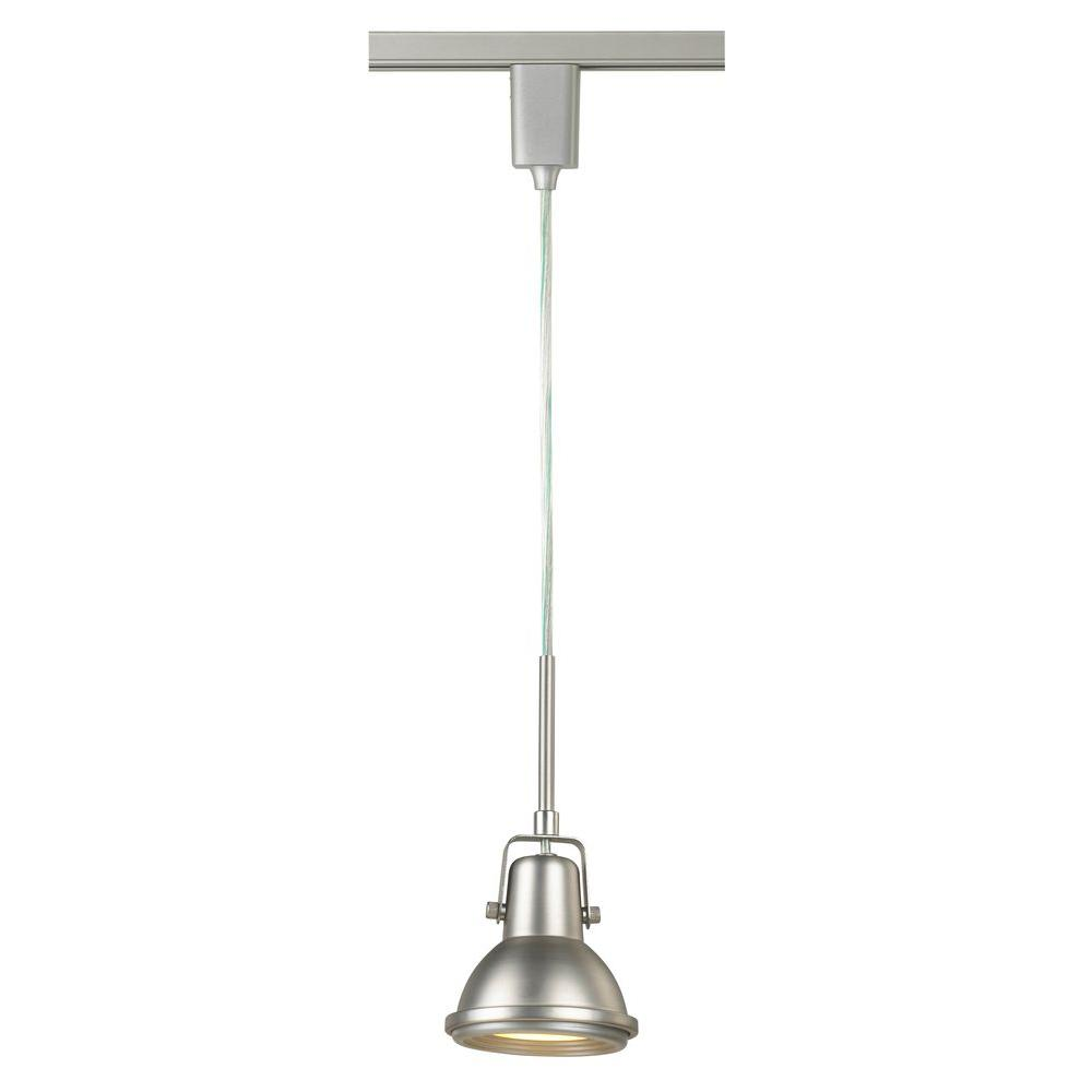 Hampton Bay 1-Light Antique Bronze Linear Track Lighting Pendant ...