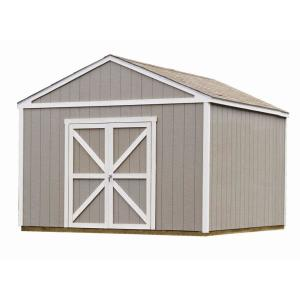 Columbia 12 ft. x 12 ft. Wood Storage Building Kit with Floor