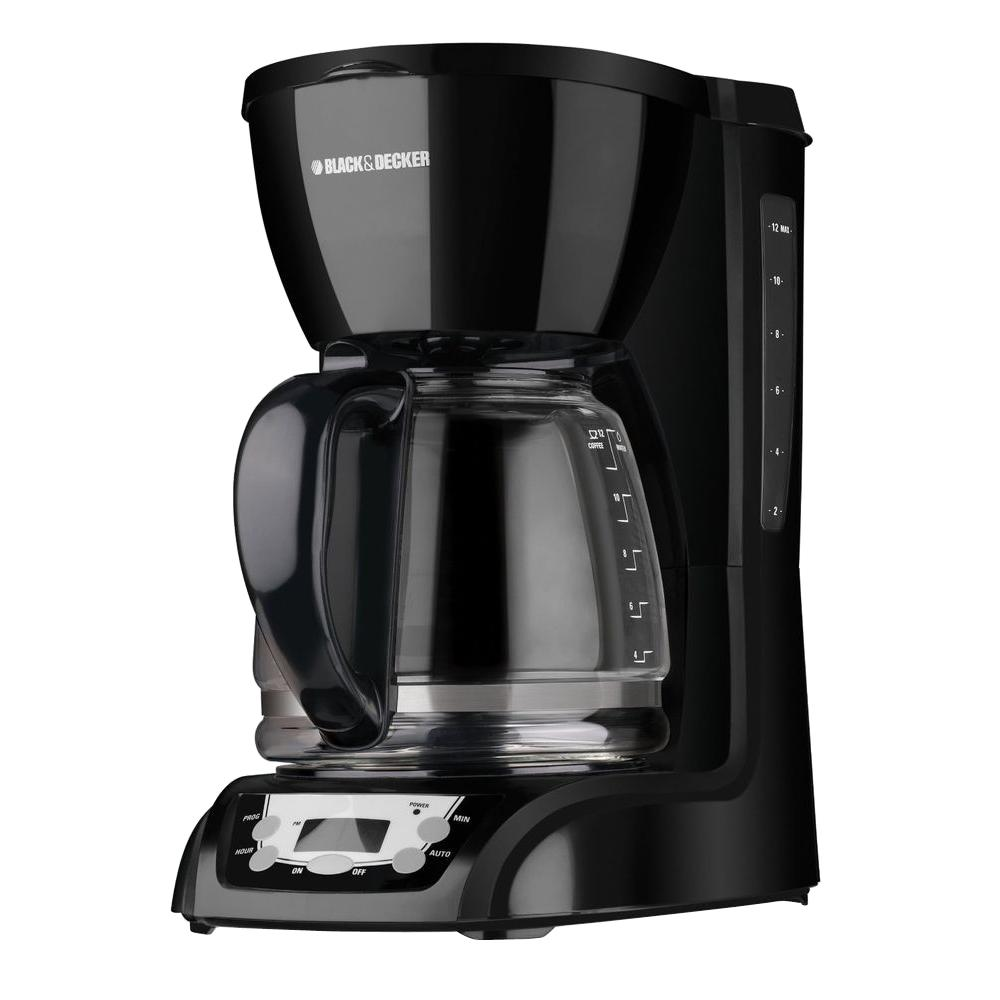 Black Decker 12 Cup Coffee Maker Dlx1050b The Home Depot