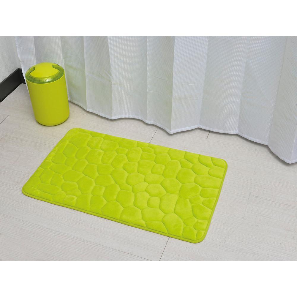 BH/_ FT 3D Cobblestone Print Bath Bedroom Floor Shower Rugs Carpet Mat Non-s GT