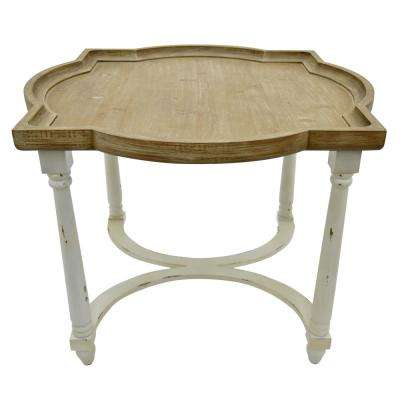 20.5 in. Brown End Table