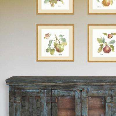 21 in. x 21 in. 'Orchard Bloom I' by Lisa Audit Fine Art Paper Print Framed with Glass Wall Art