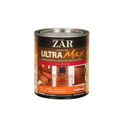 1 qt. Gloss Ultra Max Oil Modified Polyurethane (2-Pack)