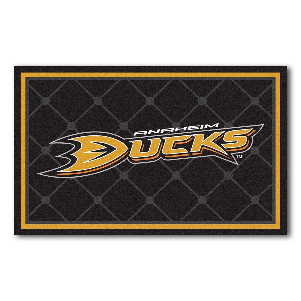 Anaheim Ducks 4 ft. x 6 ft. Area Rug
