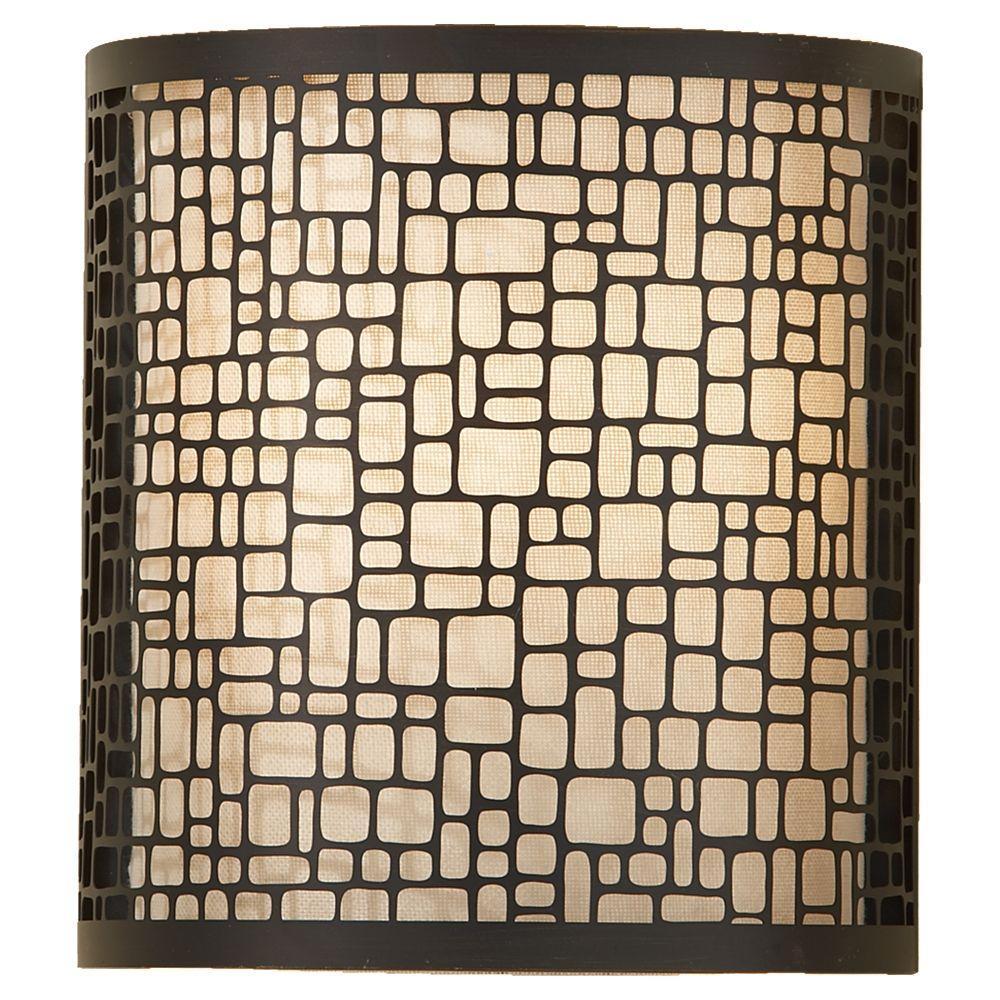 Feiss Joplin 1-Light Light Antique Bronze Sconce