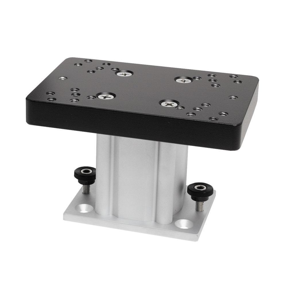 4 in. Aluminum Fixed Base Downrigger Pedestal