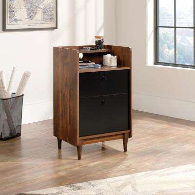 Harvey Park Grand Walnut Cabinet with File Drawer