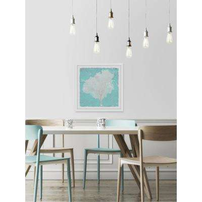 "32 in. H x 32 in. W ""Graphic Sea Fan VII"" by Marmont Hill Framed Wall Art"