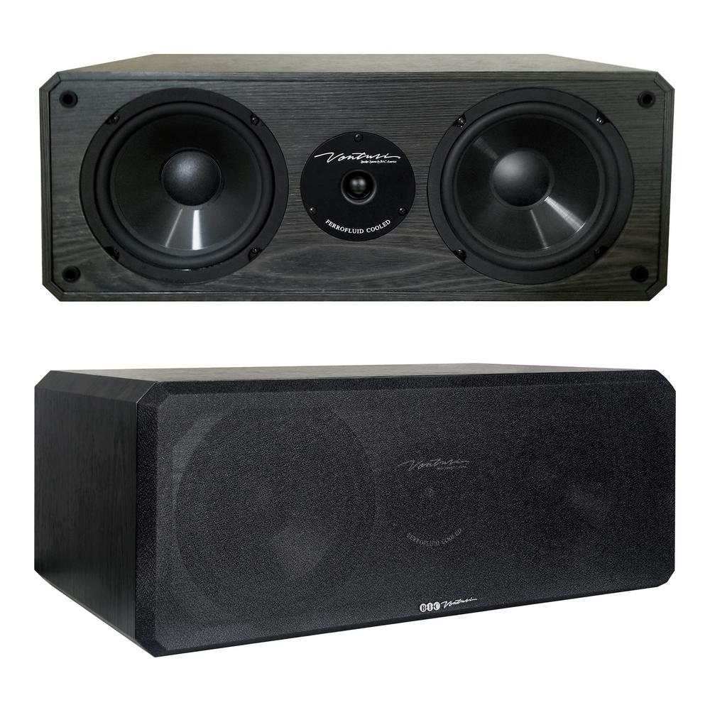 175-Watt 2-Way, 3-Driver 6.5 in. Center Channel Speaker