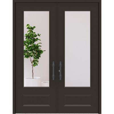 Leaded Gl Double Front Doors on