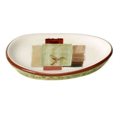 Inspire Freestanding Soap Dish in Parchment