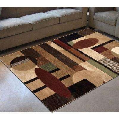 Tribeca Multi 8 ft. x 11 ft. Indoor Area Rug