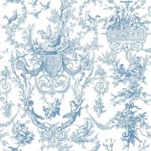 York Wallcoverings Old World Toile Wallpaper by York Wallcoverings